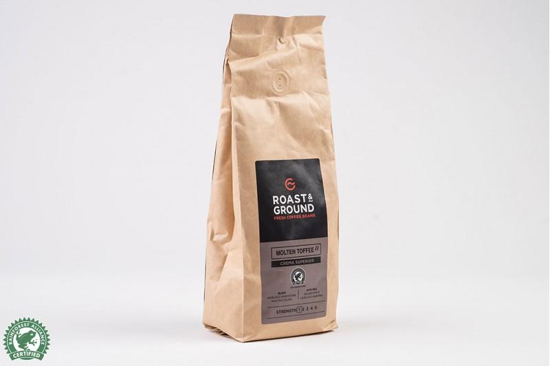 Molten Toffee Crema Superior Beans 12x500g