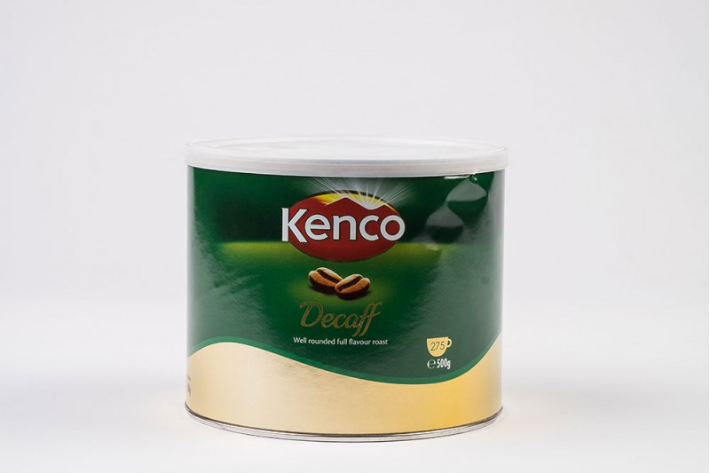 Kenco Decaff Instant Coffee Tin 1x500g