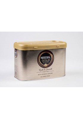 Nescafè Gold Blend Tin Instant Coffee 1x500g