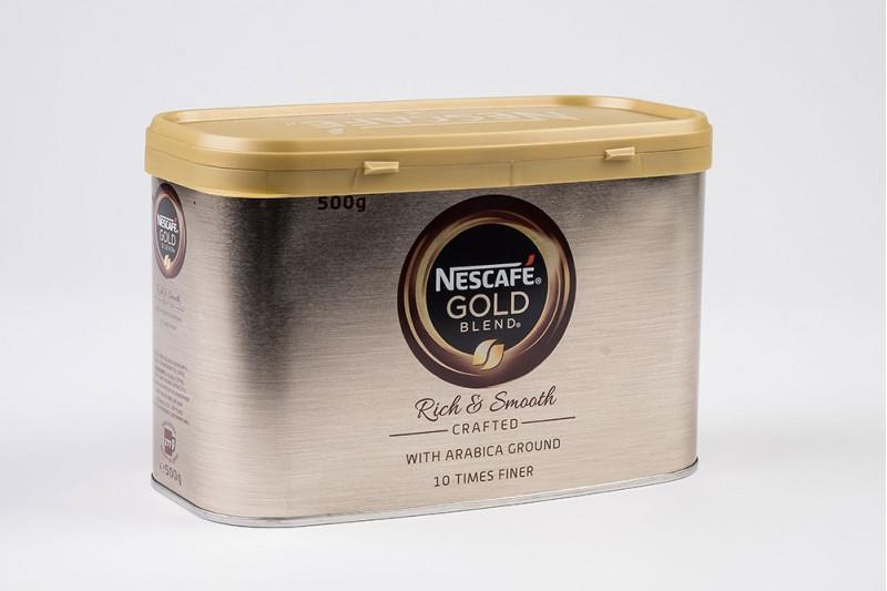 Nescafè Gold Blend Tin Instant Coffee 1x500g