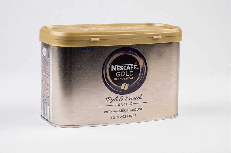 Nescafè Gold Blend Tin Decaff Instant Coffee 1x500g