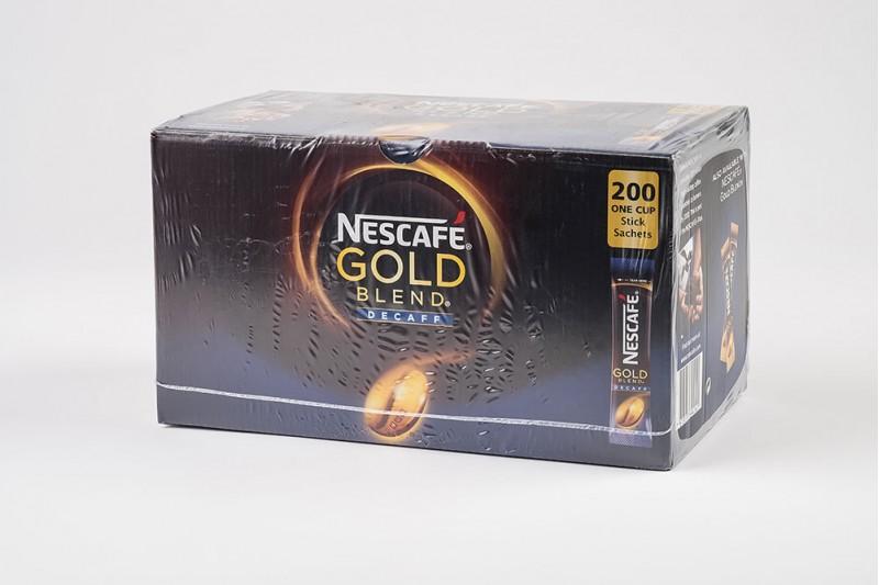 Nescafè Gold Blend Decaff Instant Coffee Sticks 1x200
