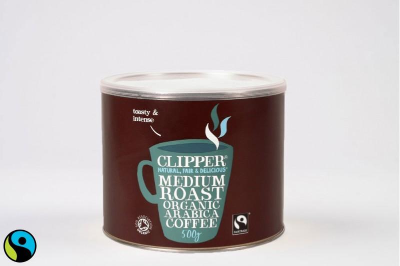 Clipper Fairtrade Organic Instant Arabica 1x500g