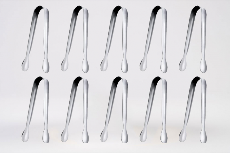 Stainless Steel Mini Serving Tongs For Tea Bags