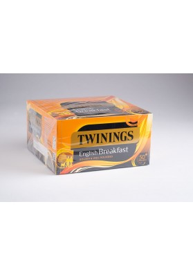 Twinings English Breakfast Enveloped Tea Bags 1x50