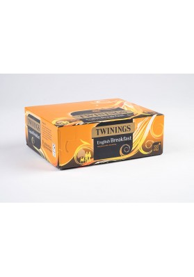 Twinings English Breakfast Tagged Tea Bags 1x100