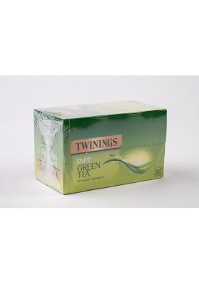 Twinings Pure Green Tea Enveloped Tea Bags 1x20