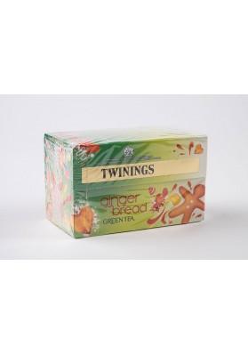 Twinings Gingerbread Green Tea Env Tea Bags 1x20