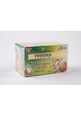 Twinings CaramelisedApple GreenTea Env Tea Bags 1x20