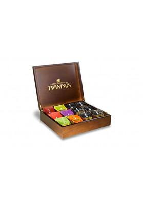 Twinings 12 Sachet Wooden Box