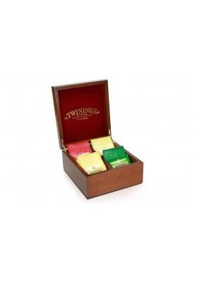 Twinings 4 Sachet Wooden Box
